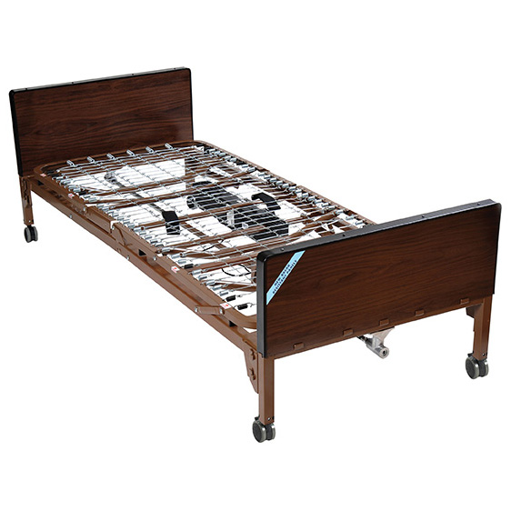 Semi Electric Ultra Light Plus Hospital Bed Brown 36