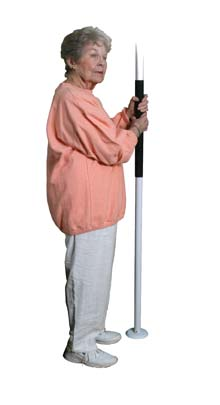 Easy Assist Pole, White ,  Size
