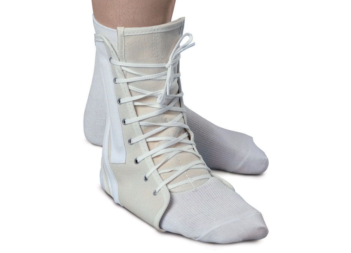 orthopedic boots shoes canvas lace up ankle support