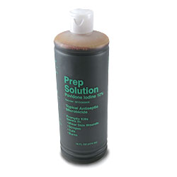 POVIDONE IODINE SOLUTION,16 OZ