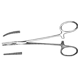 FORCEPS,MOSQUITO,CURVED,5-5.5