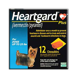 RXV HEARTGARD PLUS, SMALL, 12 MONTH