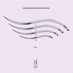 NEEDLES, SUTURE, NON-STERILE, DOUBLE CURVED CUTTING EDGE, SIZE 1, 12/PK