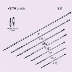 NEEDLE,SUT,NON-STRL,KEITH STRAIGHT ABDOMINAL,TRIANGULAR POINT,SZ 1.75,12/PK