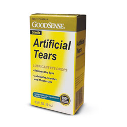 RX ARTIFICIAL TEAR SOLUTION 15ML