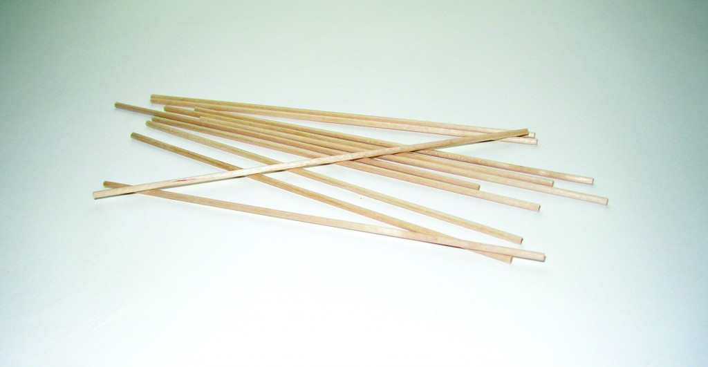 PLAIN APPLICATOR STICKS, 1,000PCS/PK, 30PK/CASE,PK