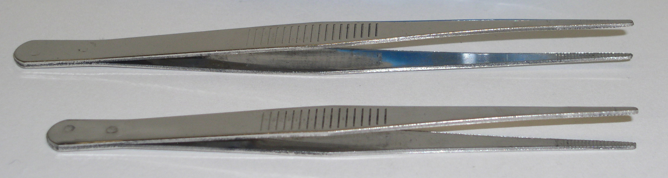 """STAINLESS STEEL FORCEPS, 5"""",DOZ"""