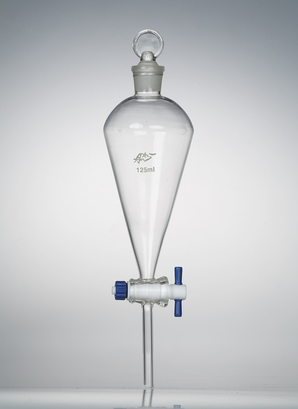 SEPARATORY FUNNEL WITH PTFE STOPCOCK, 250ML,CS