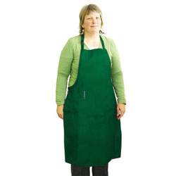 All-Purpose Apron, Weight/Size: 140-170 lbs. Color: Large, Green