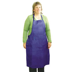 All-Purpose Apron-XL-Blue, Weight/Size: Over 170 lbs., X-Large, Color: Blue