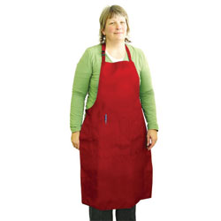 All-Purpose Apron, Weight/Size: Over 170 lbs., X-Large, Color: Red