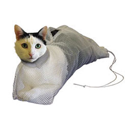 SACK,CAT,BS-SET MESH BATH SACK SET FOR CATS SMALL & LARGE