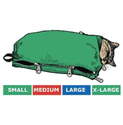 SACK,CAT,5-CAT SACK SET WITH FULL ZIP (S,M,L,XL,JUMBO)