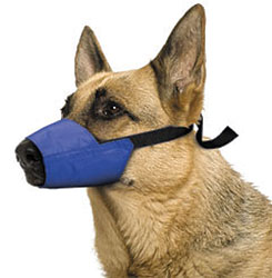 Color- Coded Quick Muzzle For Dogs, X-Large