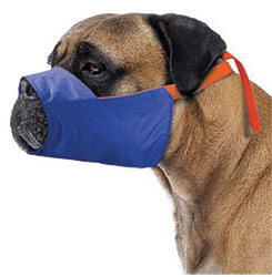Color-Coded Quick Muzzle For Dogs, XXXX-Large