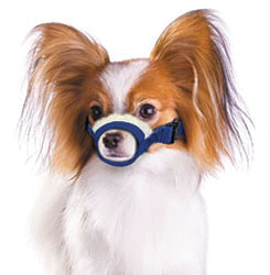 Cozy Quick Muzzle For Dogs, X-Small, Blue