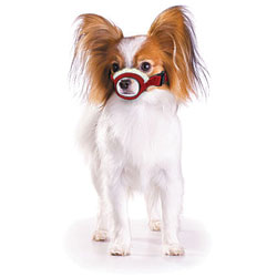 Cozy Quick Muzzle For Dogs, X-Small, Red