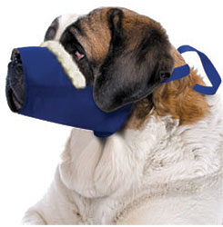 Cozy Quick Muzzle For Dogs, 5X-Large, Blue