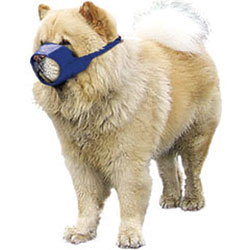 MUZZLES,MEDIUM CHOW QUICK MUZZLE FOR DOGS