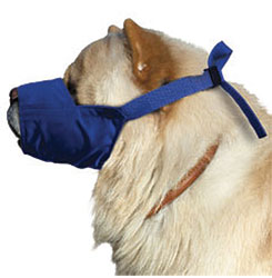 Color-Coded Quick Muzzle For Dogs, Large, Chow