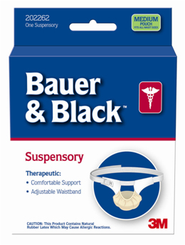 Bauer and Black Suspensory