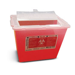 SHARPS CONTAINER 3 GALLON EACH