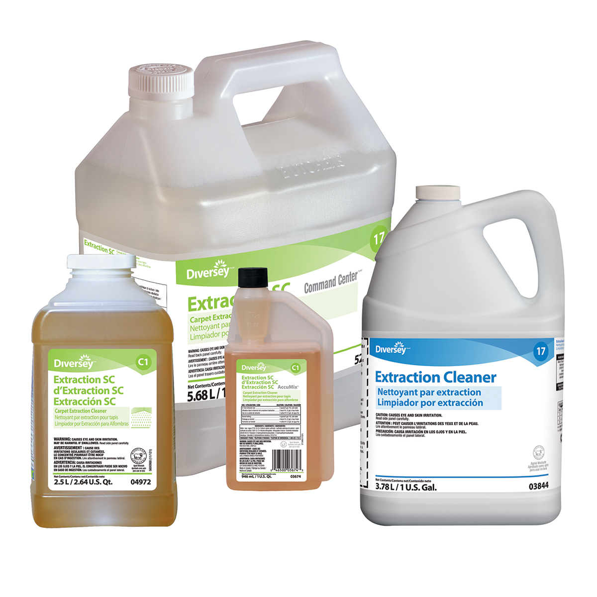 Extraction Carpet Cleaner 1 Gal. 4 Ea/Cs