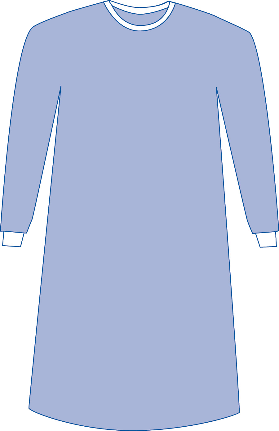 SLEEVE,GOWN,,STERILE,W/CSR WRAP,1/P,60 EA/CS