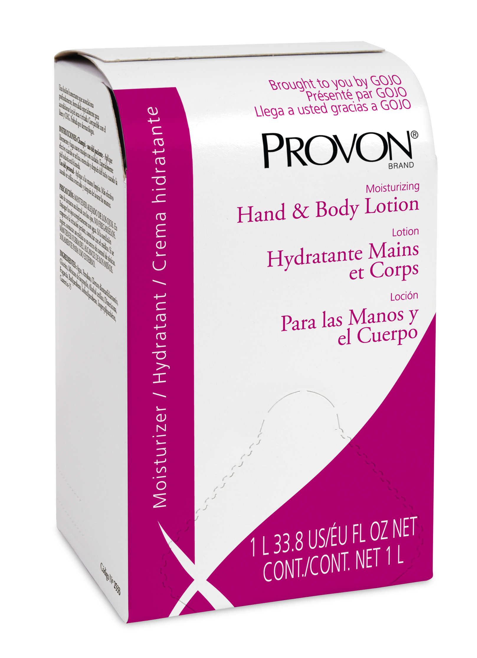Lotion Hand & Body Provon Nxt 1000Ml 8 Ea/Cs