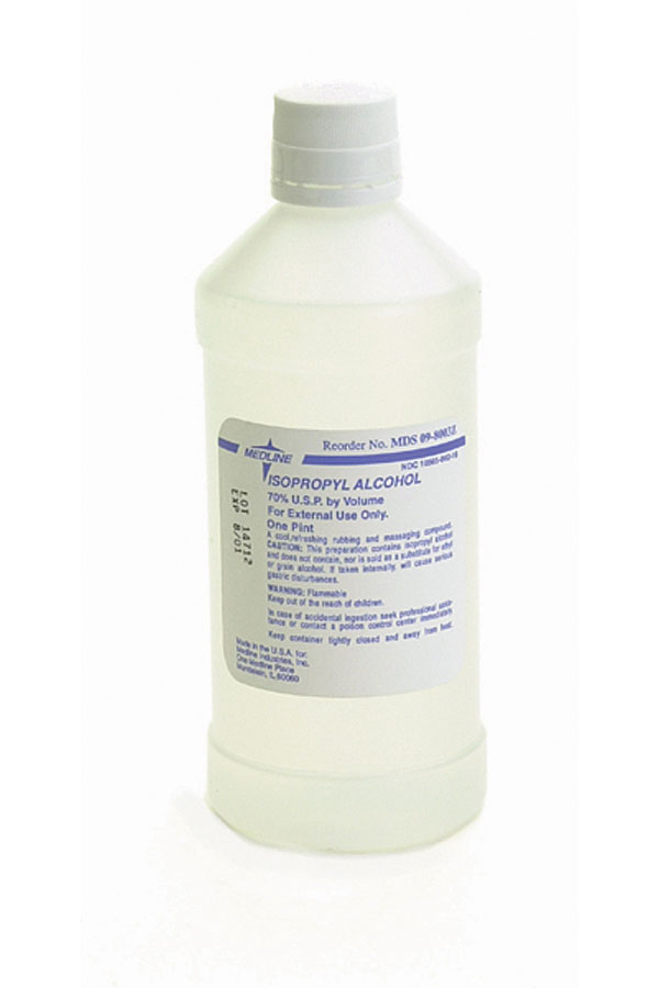 Isopropyl Rubbing Alcohol ,70%, 12/Case
