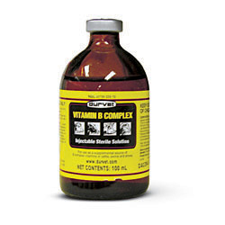 Vitamin B Complex 250ml vet label