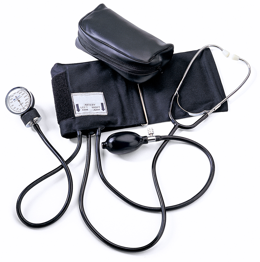 Aneroid Hand Held Attached Stethoscope Ea