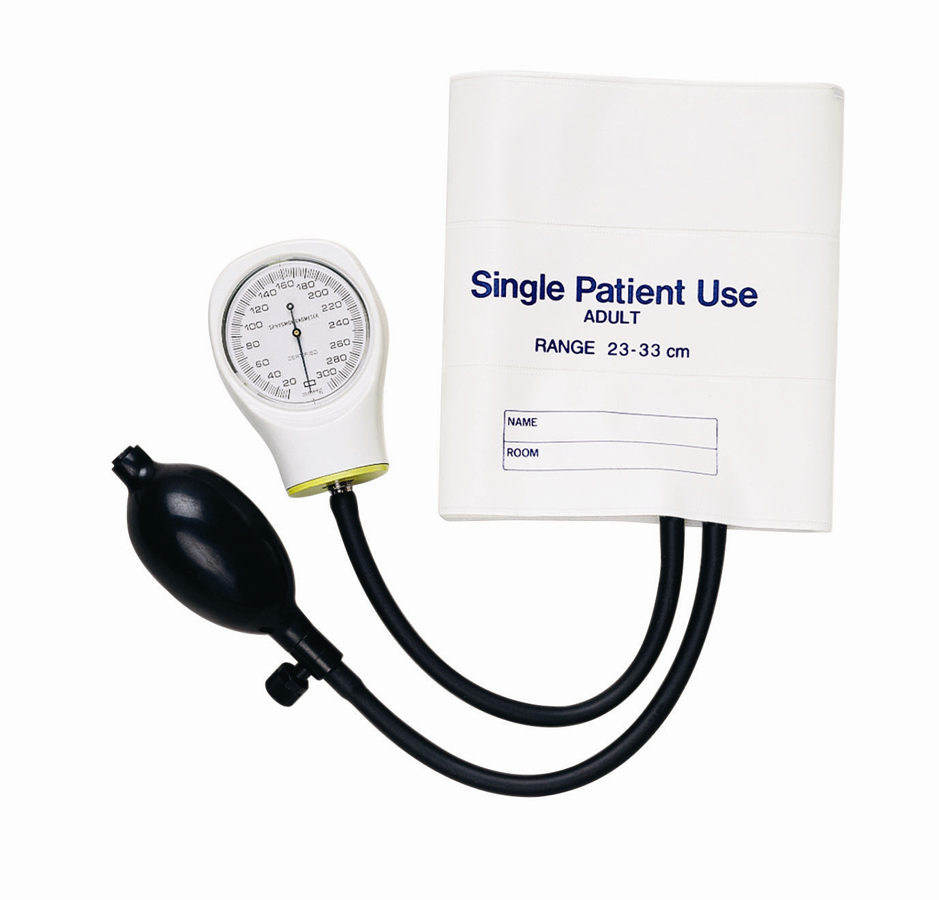 Aneroid Hand Held Single Patient Use Ea