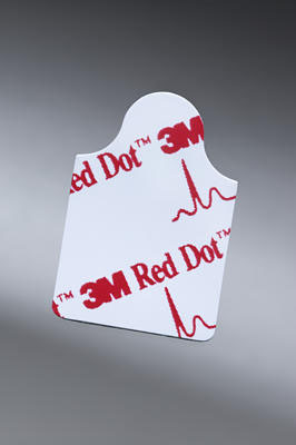 ELECTRODES,RED DOT,RESTING EKG,4000 EA/CS