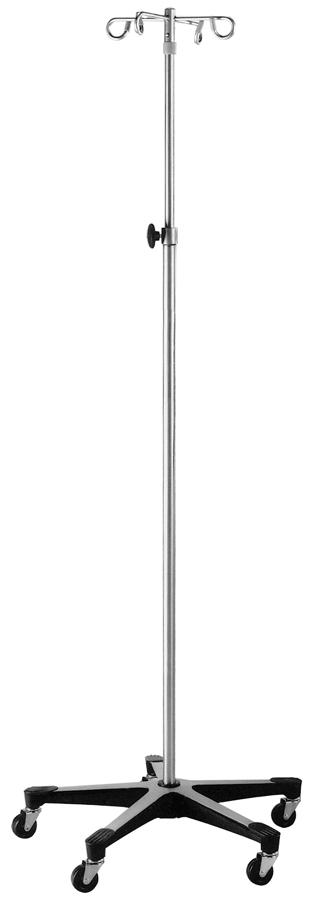 STAND,IV,SS,5 LEG,2 HOOK,KNOB OP,1415,EA