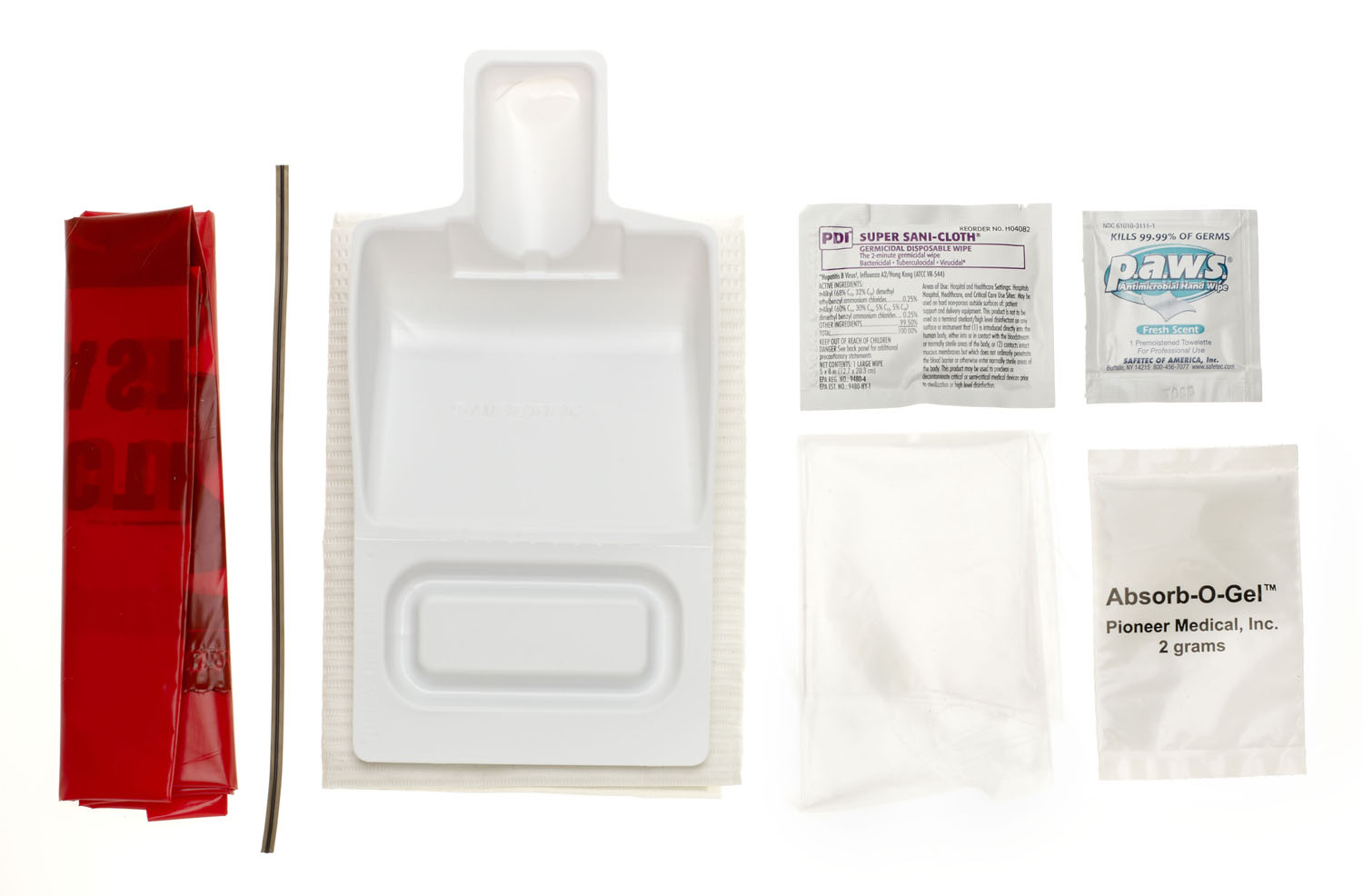 Kit Spill Clean-Up Standard 36Kits/Case 36 Kt/Cs