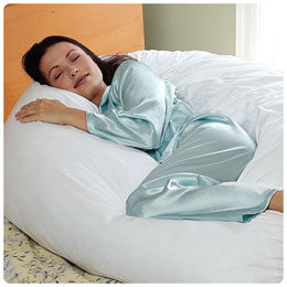 10' Body Pillow W/ Cover Ea