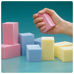 Blocks Therapy R Lite Foam Blue 32 Ea St Orthopedic