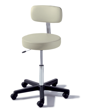 STOOL, 273, COMPBASE, AIR ADJ, W/B, TEA GREEN