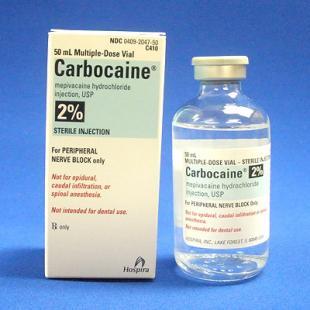 RX ZOETIS, MEPIVACAINE (CARBOCAINE) 2%, 50ML