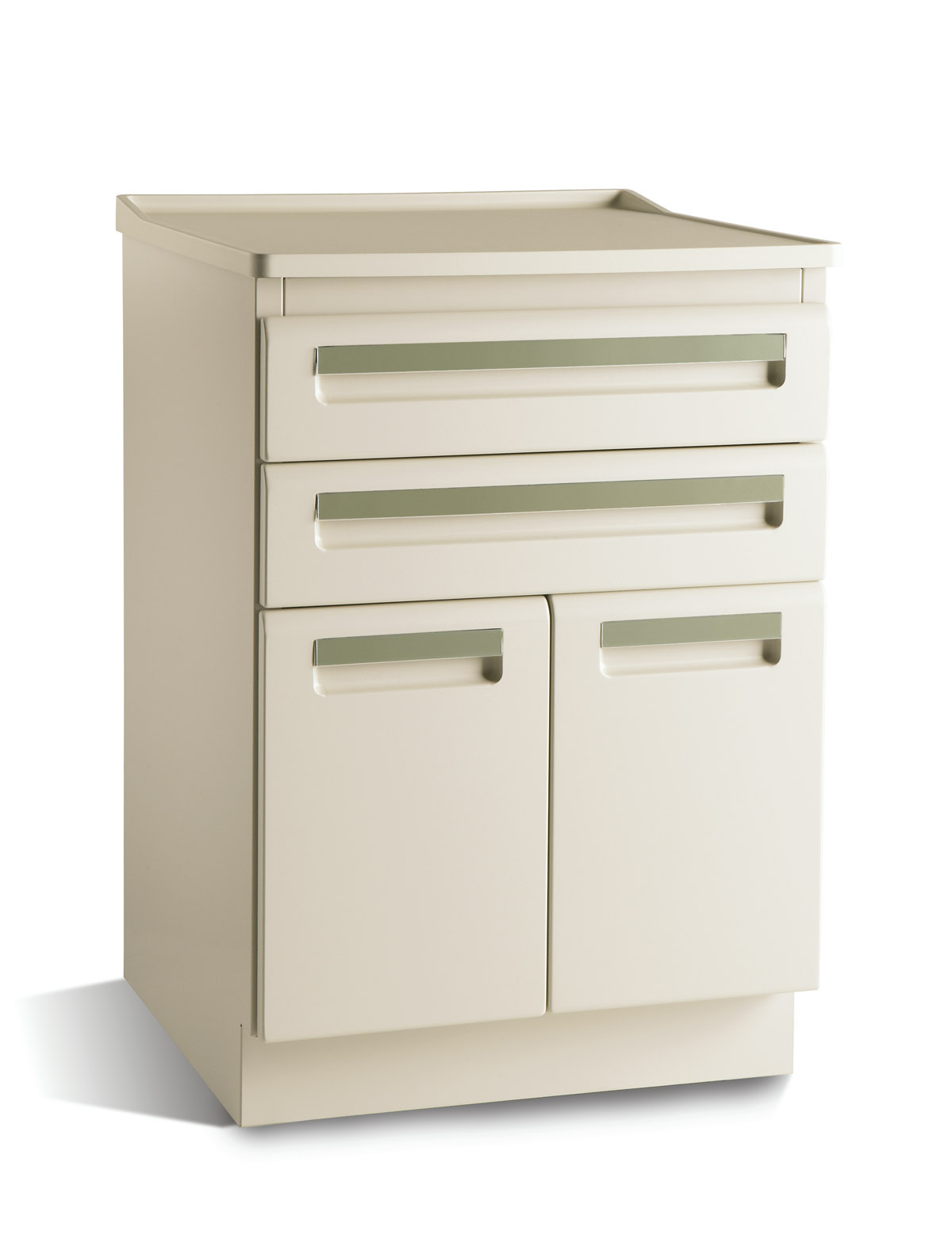 CABINET, TREATMENT, 24x18, 2 DR/2 DRW, MOSS
