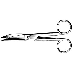 "SCISSORS,OR,5.5"",S/S,CVD SATIN ECONOMY"