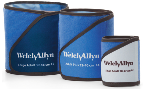 Welch Allyn Sleeve Cuff Kit, 1 of each Sleeve Cuff Size for ABMP 6100