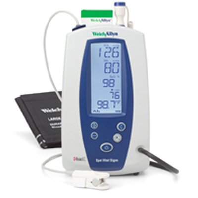 Spot Vital Signs with NIBP, Masimo Pulse Oximetry and SureTemp Thermometry