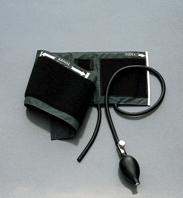 Adult Inflation System with Two-Tube Bag and Cuff Common Cuffs and Inflation Systems-Wall Sphygs