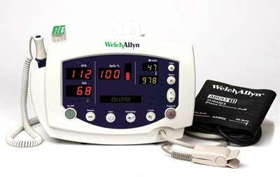 Vital Signs Monitor 300 Series, Noninvasive Blood Pressure only (includes Pulse Rate & MAP)