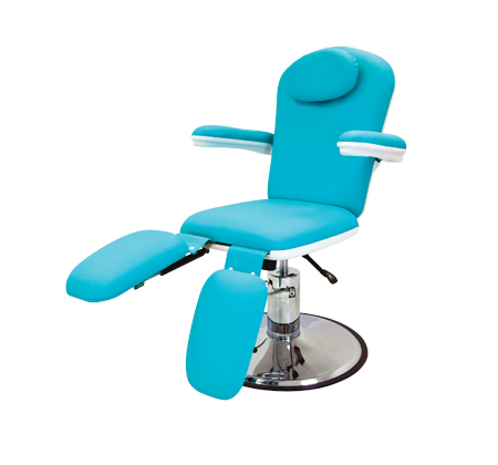 Nova Aire Podiatry Chair, Turquoise, Each.