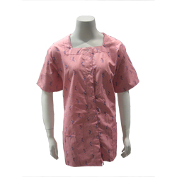 TUNIC, CELEBRATION PINK, SQUARE NECK, WOMEN'S, X-SMALL