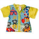 TOP,PJ,PEDIATRIC,YELLOW,KOALA PRINT,SMALL