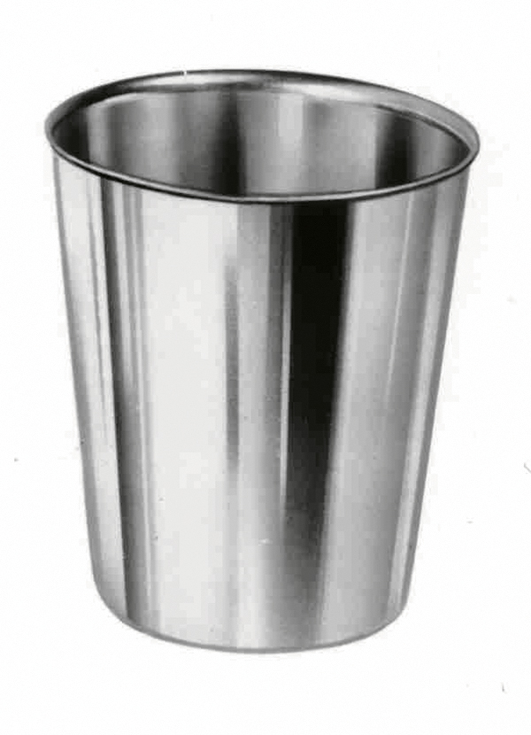 CUPS,DRINKING,STAINLESS STEEL,7OZ.,12/CASE